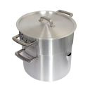 Image for Heavy Base 400 Series Double Boiler Pan & Lid