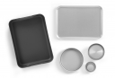 Image for Extra Deep Roasting Dish With Integral Handles - Aluminium