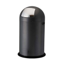 Image for 40L, 52L Steel Push Bins - Black