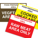 Image for Catering Signs 210 x 297mm (A4)