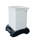 Image for 42 Litre Plastic Base- Plastic Lid-Metal Body