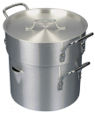 Image for MEDIUM DUTY DOUBLE BOILER & LID, ALUMINIUM