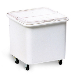 TRIMELD INGREDIENT BIN 109 LTR WH/CLEAR