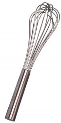 Image for 8 Wire French Whisk, Stainless Steel