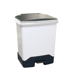 42Ltr Fully Plastic Fire Retardant Sackholder Black Lid