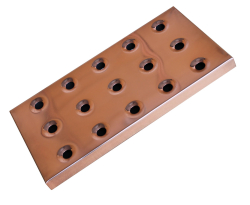 Deluxe Bar Tray Copper Effect