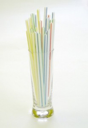 STRAW 210mm x 7mm JUMBO STRAW STRIPED PER CASE 10000
