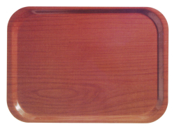 "Melamine tray, 470 x 360mm (18 1/2"" x 14""), cherry"
