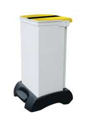 75Ltr Sackholder Plastic Base Metal Body & Metal Tiger Lid