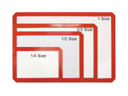 Silicone Baking Mats for Bun Pans 1/2 Size 420mm x 300mm